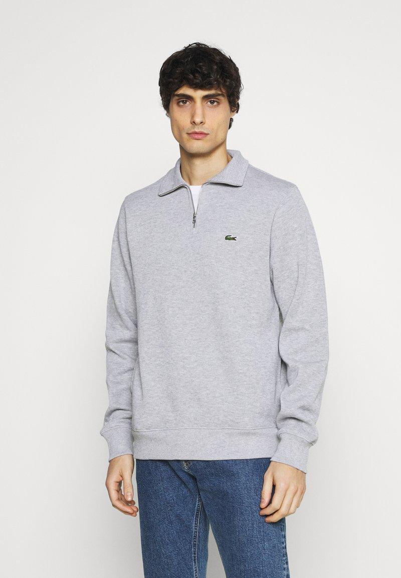 Lacoste - Stickad tröja - argent chine