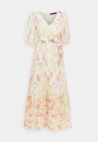 Lauren Ralph Lauren - VOILE DRESS - Day dress - col cream/coral - 5