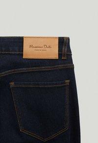 Massimo Dutti - SKINNY-FIT - Jeans Skinny Fit - dark blue - 6