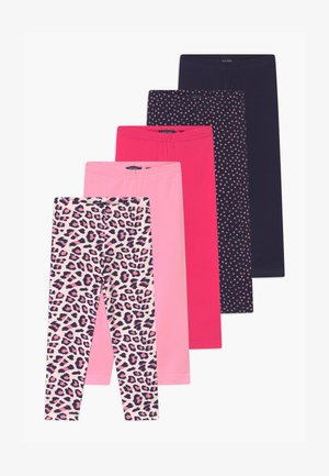 GIRLS STYLE 5 PACK - Leggings - Trousers - pink