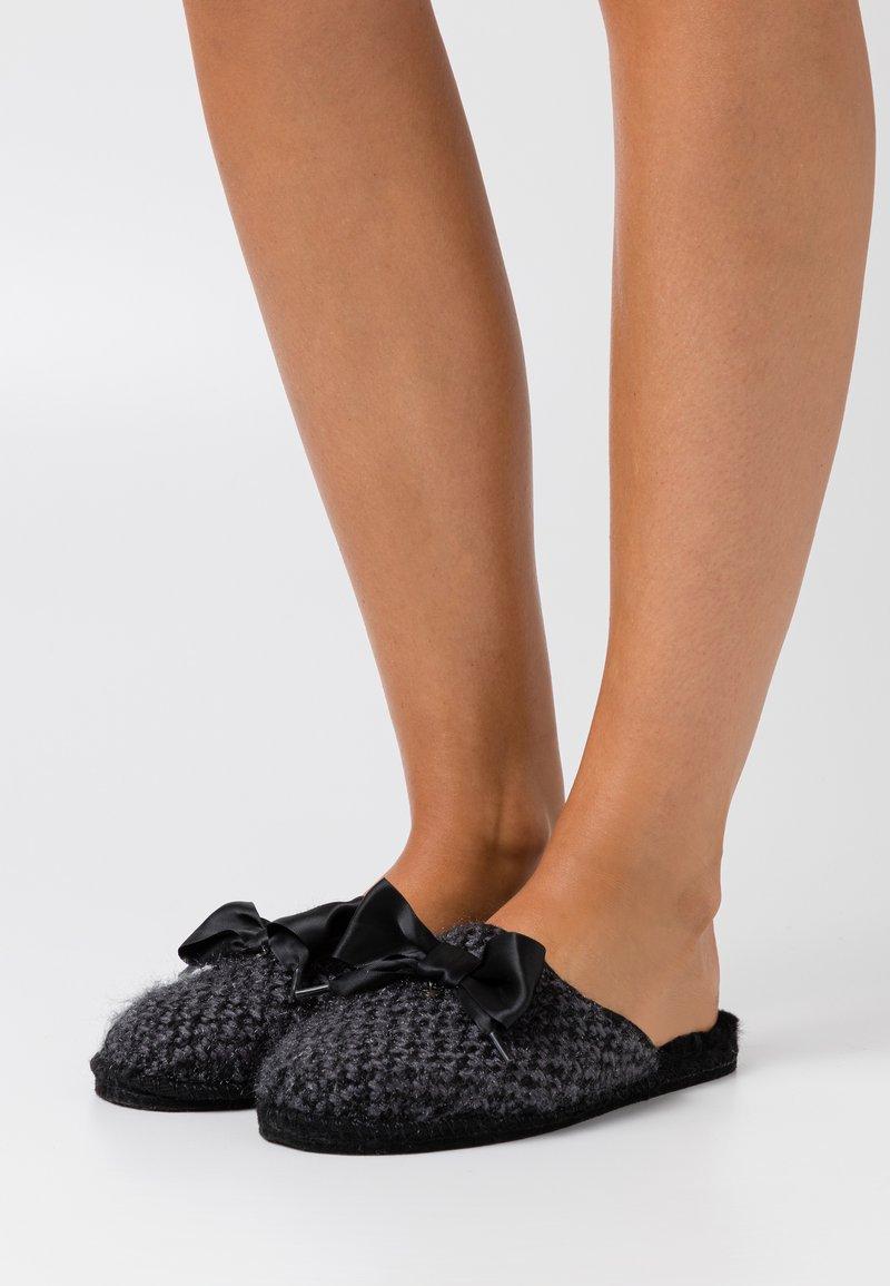 Tamaris - SABOT  - Slippers - black