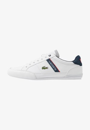 CHAYMON - Baskets basses - white/navy/red