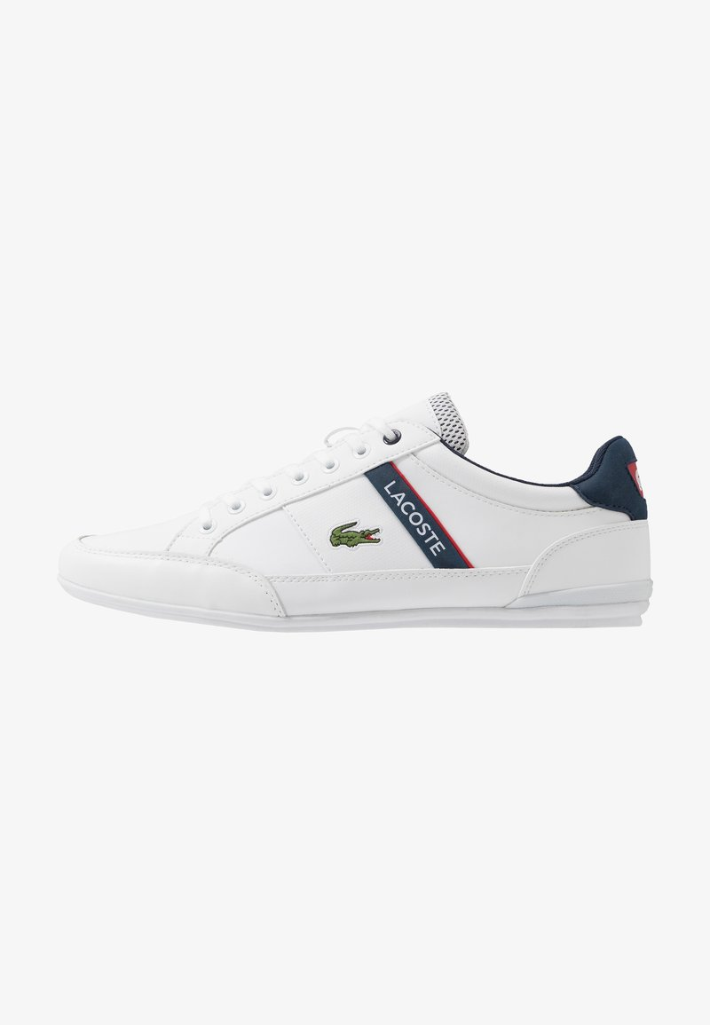 Lacoste - CHAYMON - Trainers - white/navy/red