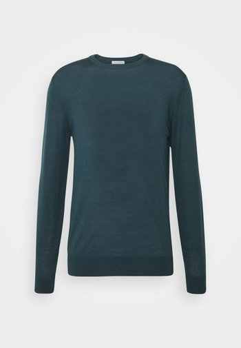 NICHOLS - Pullover - scarab green