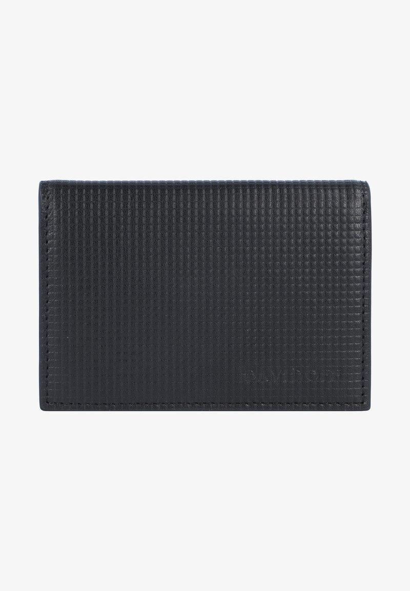 DAVIDOFF - Business card holder - schwarz
