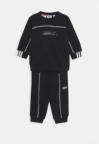 adidas Originals - CREW SET UNISEX - Tracksuit - black - 0