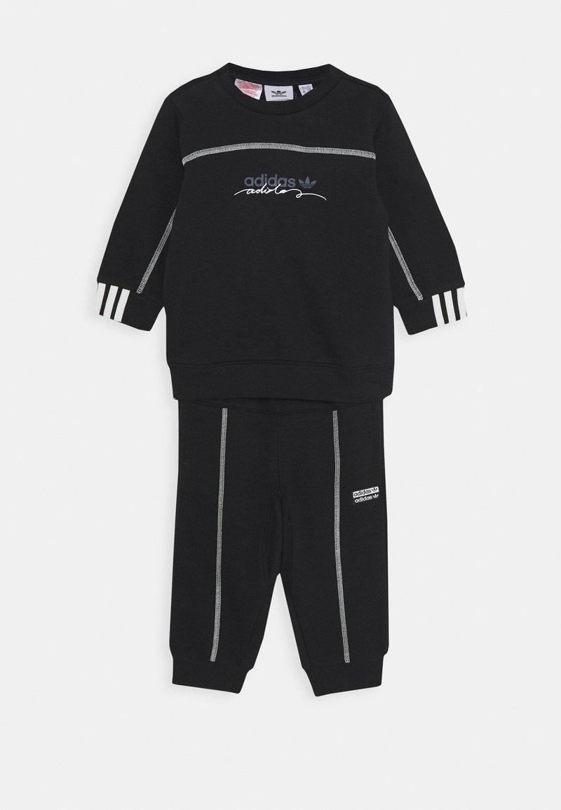 adidas Originals - CREW SET UNISEX - Tracksuit - black