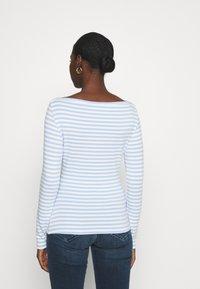 Zign - Long sleeved top - blue/white - 2