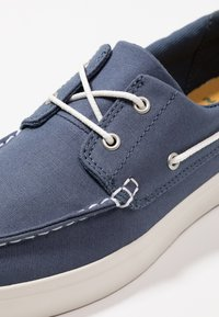 Timberland - UNION WHARF 2 EYE - Boat shoes - dark blue - 5