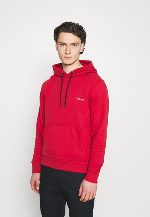 SMALL CHEST LOGO  - Hoodie - red