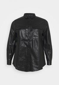 New Look Curves - UTILITY POCKET - Blouse - black - 0