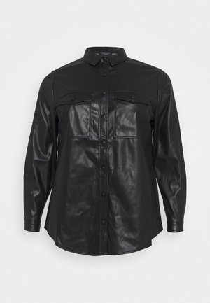 UTILITY POCKET - Blouse - black