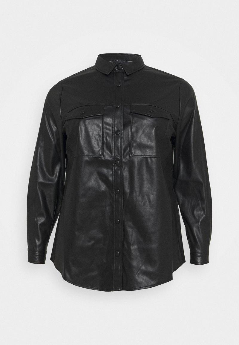 New Look Curves - UTILITY POCKET - Blouse - black