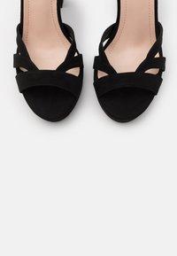 Anna Field - Højhælede sandaletter / Højhælede sandaler - black - 5