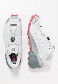 Salomon - SPEEDCROSS 5 - Trail running shoes - illusion blue/stormy weather/garnet - 1
