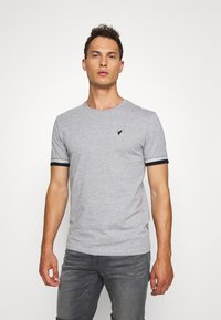 Pier One - T-shirt con stampa - grey - 0