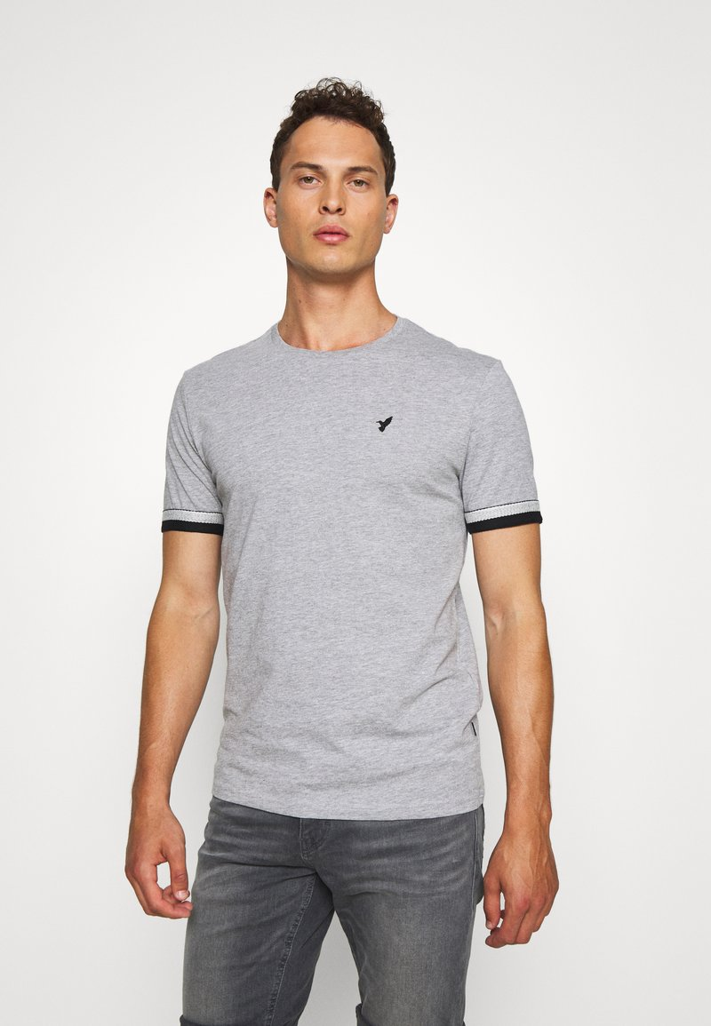Pier One - T-shirt con stampa - grey