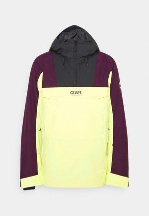 ANORAK - Snowboard jacket - yellow