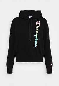 Champion - HOODED - Sweatshirt - black - 5