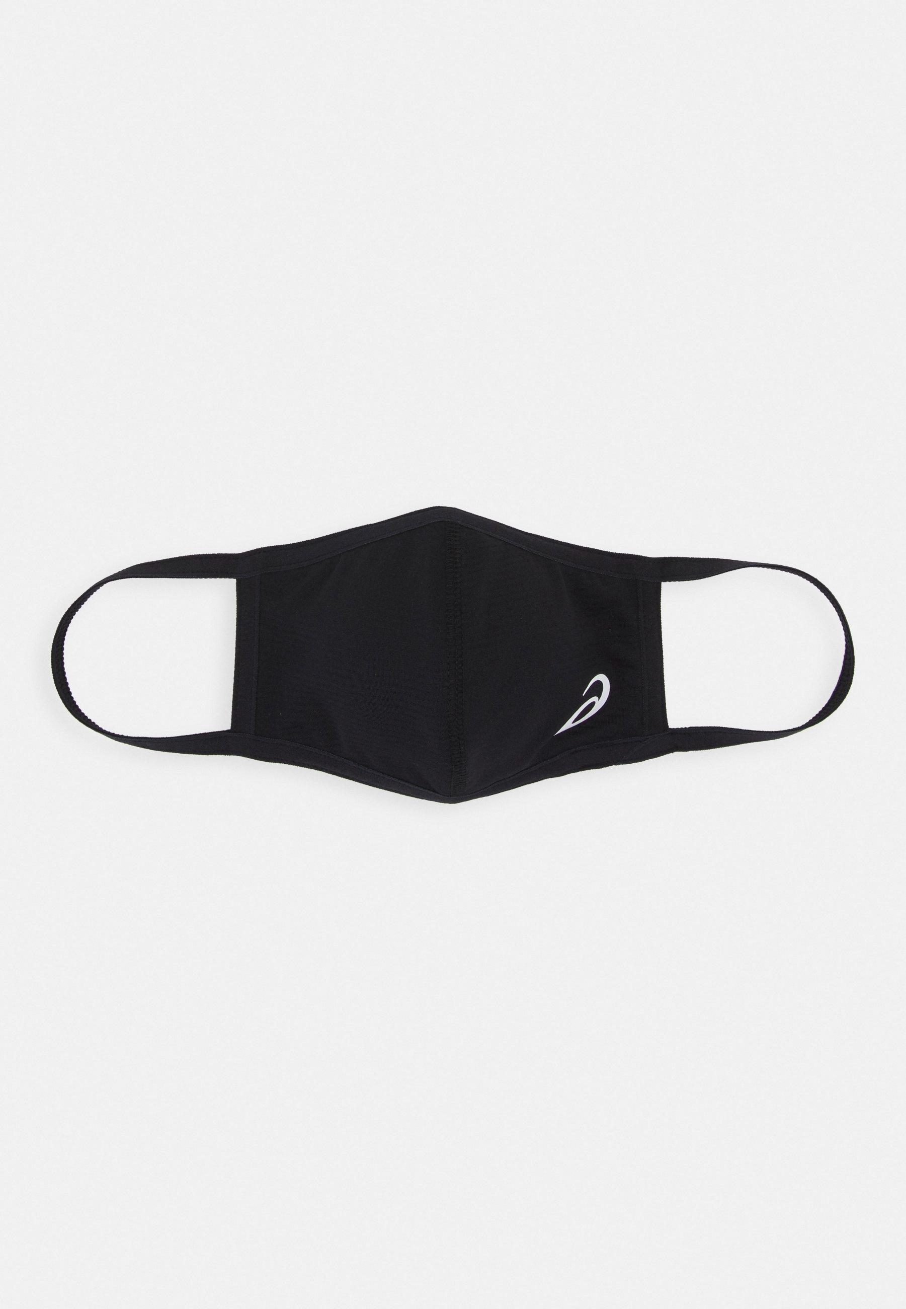 FACE COVER LOGO - Masque en tissu - black