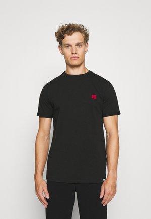 ZALANDO X LES DEUX PIECE - Basic T-shirt - black/red