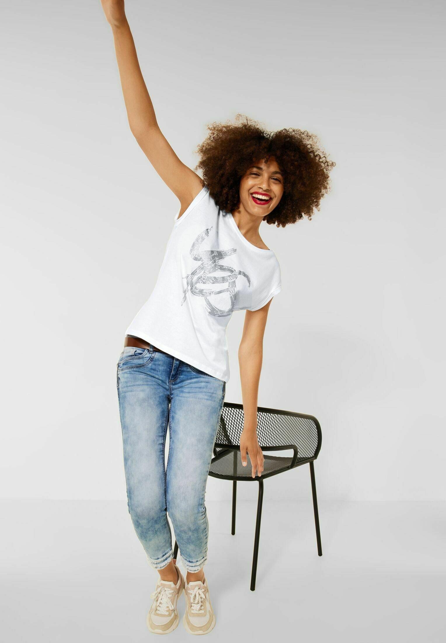 Damen MIT SCHIMMER PRINT - T-Shirt print