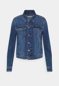 Marc O'Polo DENIM - JACKET REGULAR LENGTH PATCHED POCKETS - Denim jacket - multi/true indigo mid blue - 4