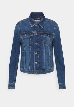 JACKET REGULAR LENGTH PATCHED POCKETS - Jeansjacka - multi/true indigo mid blue