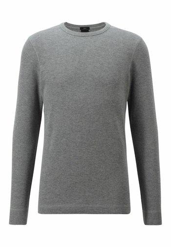 TEMPFLASH - Long sleeved top - light grey