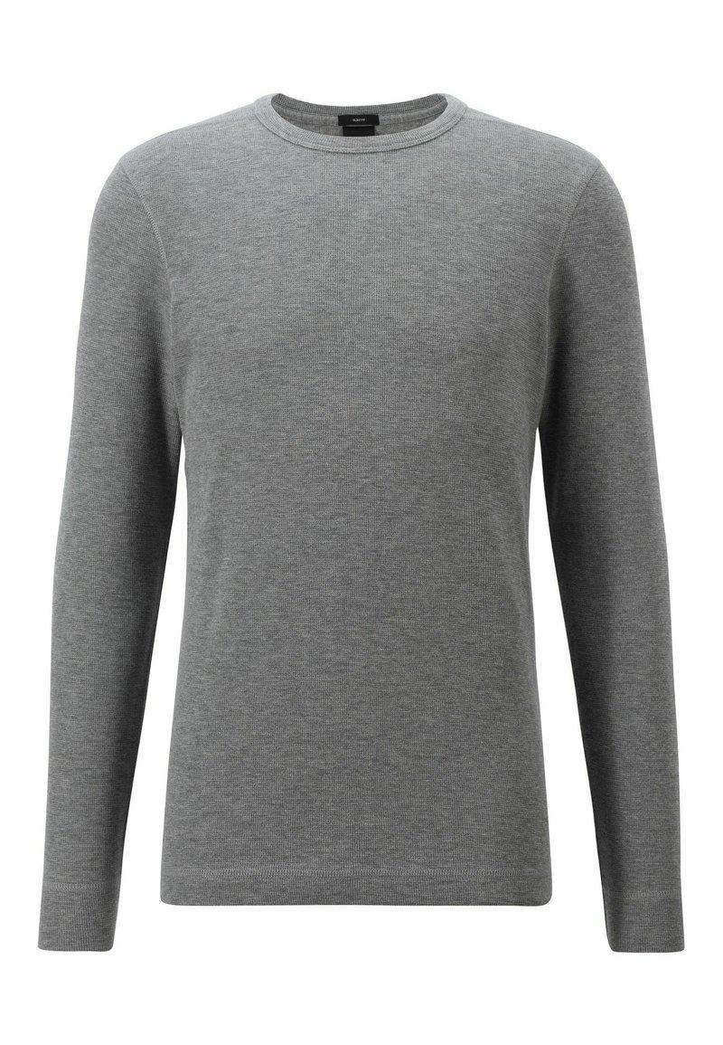 BOSS - TEMPFLASH - T-shirt à manches longues - light grey