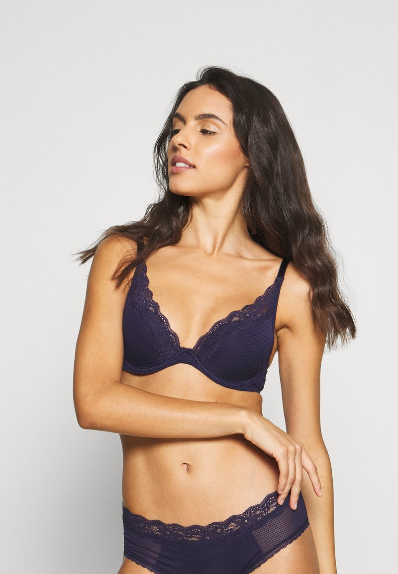 Passionata - BROOKLYN - Underwired bra - bleu nocturne