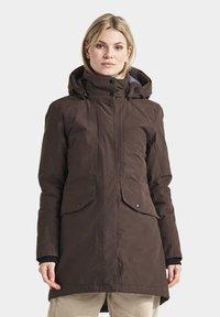 Didriksons - SANNA - Winter coat - coffe brown - 0