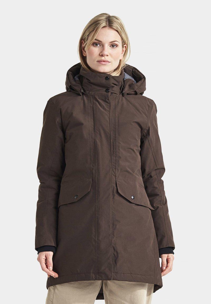 Didriksons - SANNA - Winter coat - coffe brown