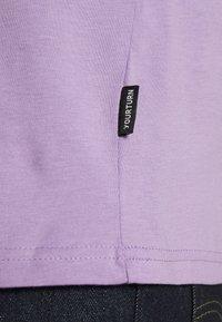 YOURTURN - 2 PACK UNISEX - T-shirt - bas - purple/black - 5