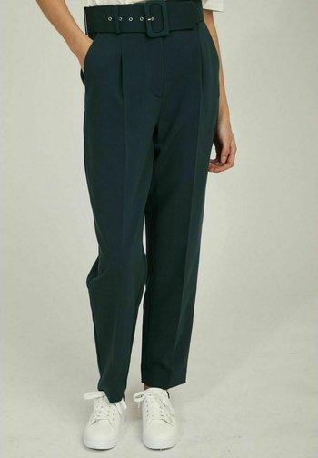 WORK  - Trousers - green