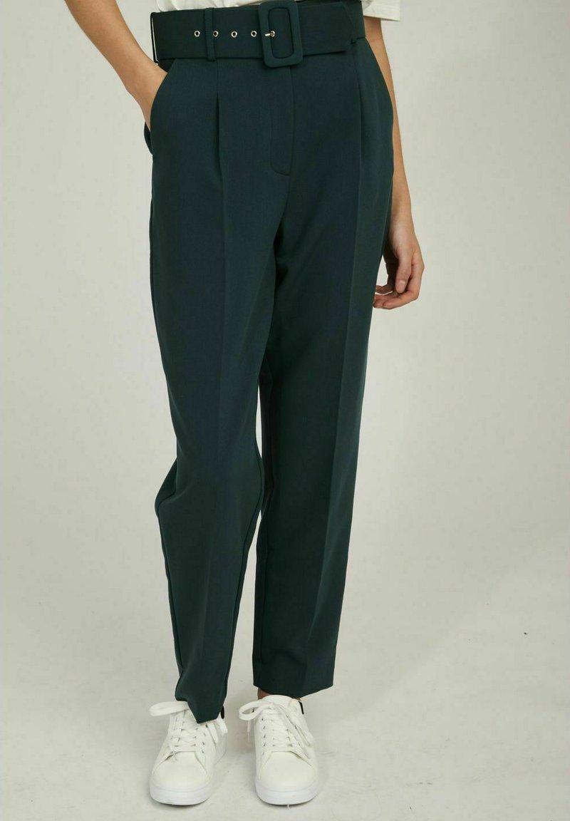 NAF NAF - WORK  - Trousers - green