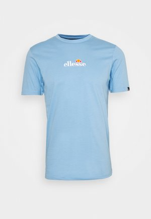 MAVOZ - Print T-shirt - light blue