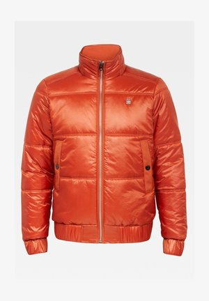 MEEFIC QUILTED - Down coat - cinnamon orange