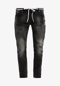 Tigha - BILLY THE KID PATCHED - Jeans slim fit - dark grey - 3