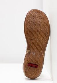 Rieker - Sandals - weiß - 6