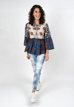 AFRICAN - Button-down blouse - terra