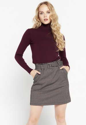 A-line skirt - multi-colored