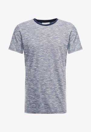 THE ORGANIC SPORTY TEE - T-shirt basic - navy blazer