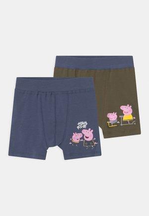 NMMPEPPAPIG 2 PACK - Pants - vintage indigo