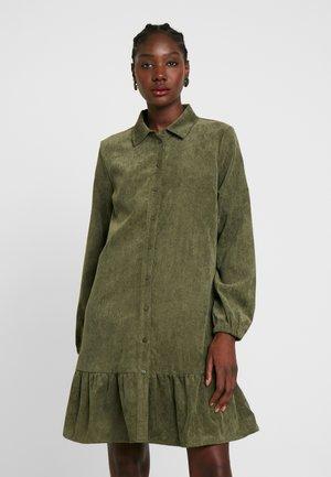 Abito a camicia - army green