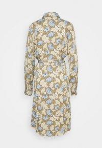 Object Tall - OBJANAIS SHIRT DRESS - Shirt dress - fossil - 1