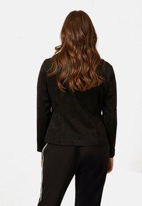 Elena Mirò - Faux leather jacket - black - 1