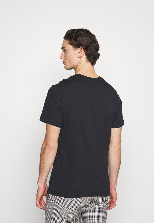 Nike Sportswear TEE MANGA - T-shirt z nadrukiem - black/czarny Odzież Męska TJDY