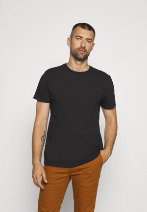 BASIC TEE - T-shirt - bas - black