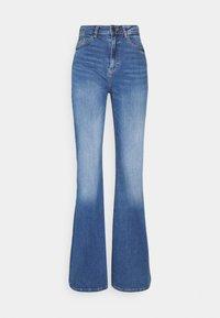 Noisy May Tall - NMNAT - Flared jeans - light blue denim - 0